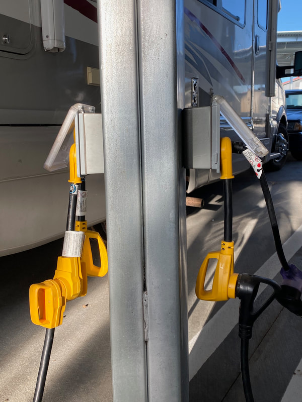 Electrical Hookups for RV Storage